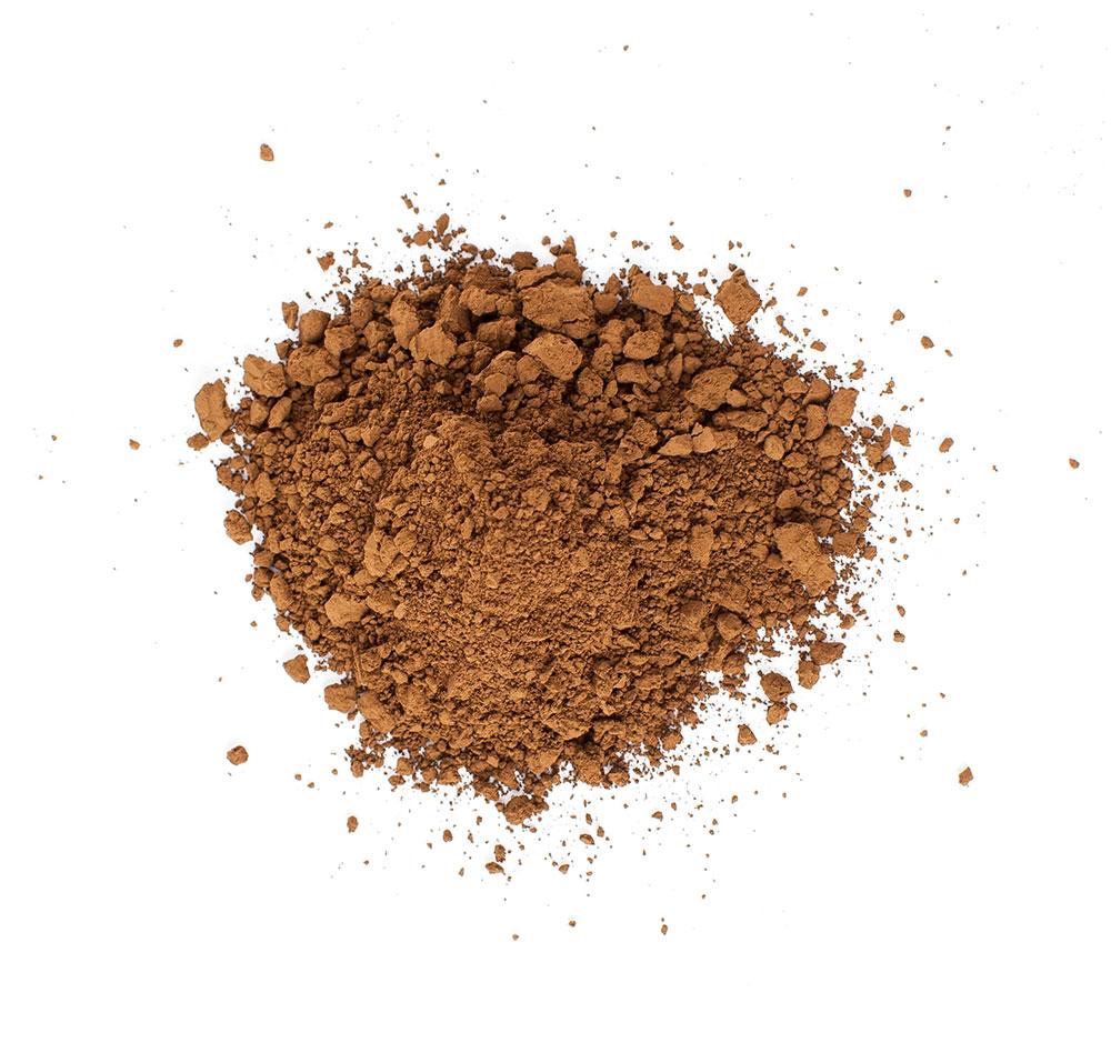 Brunt pigment