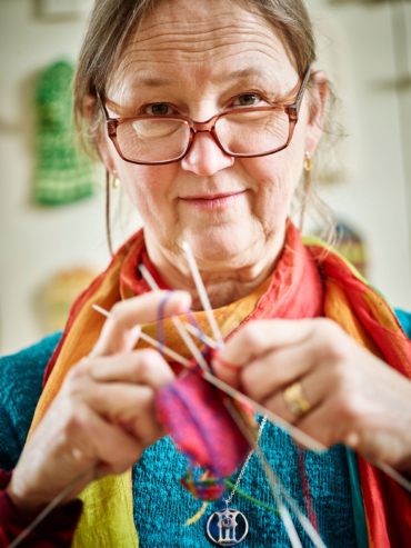 Porträtt av Erika Nordvall Falck