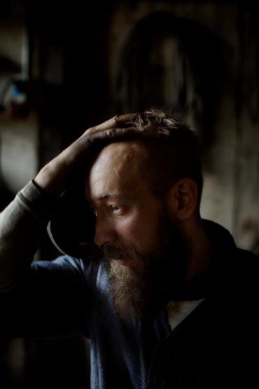 Porträtt av Kristofer Åberg.