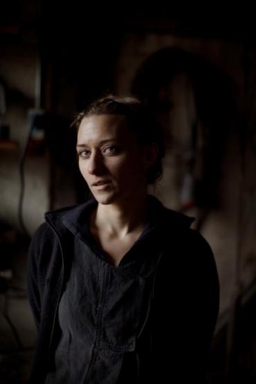 Porträtt av Julia Kalthoff.