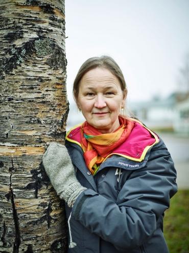 Porträttfoto av Erika Nordvall Falck