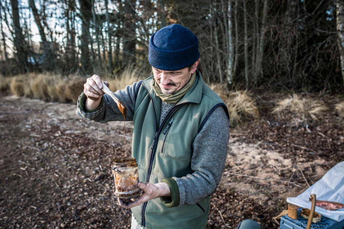 Juha Rankinen testar näveroljan