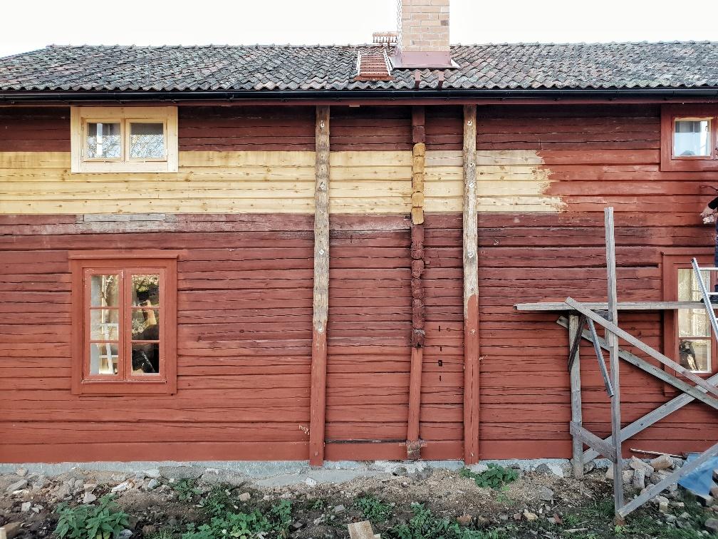Ett hus blir aldrig färdigt