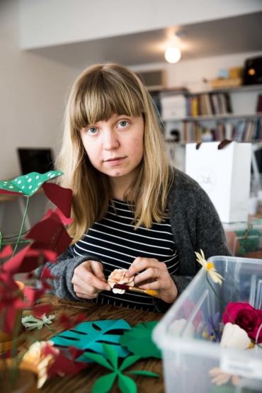 Porträtt av Fideli Sundqvist