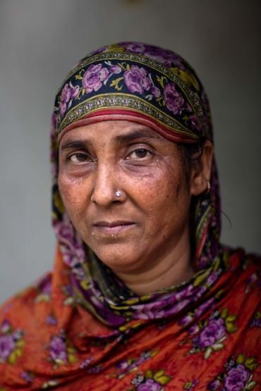 Porträtt av Ambia Kathu.