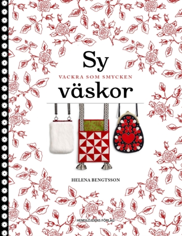 """framsidan av boken """"Sy väskor - vackra som smycken!"""""""