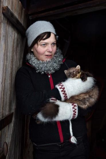 Porträtt av Helena Gjaerum.