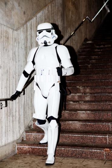 Andreas Engström som Stormtrooper ur Star wars