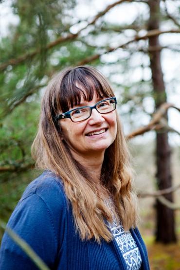 Porträtt av Merete Östamann